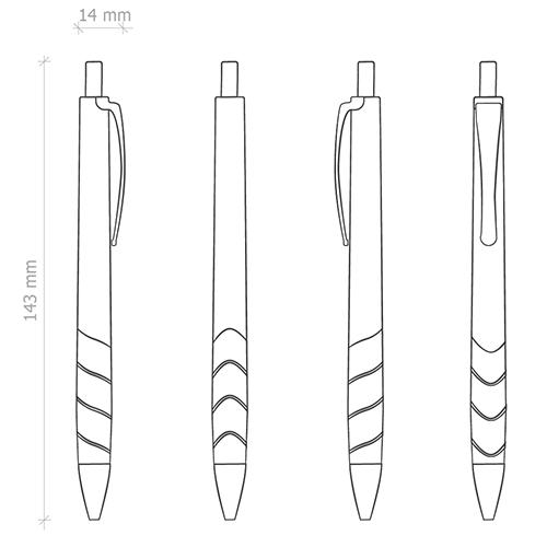 caratteristiche penne personalizzate